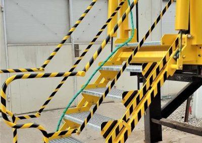 schody opuszczane